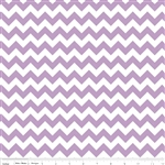 Small Chevron Lavendar C340-120 Half Yard