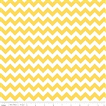 Small Chevron Yellow C340-50 Half Yard