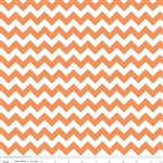 Small Chevron Orange C340-60 Half Yard