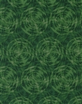 Timeless Treasures Flora Circles FLORA-C1054-Green Half Yard