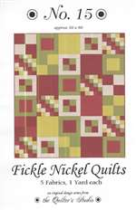 Fickle Nickel Quilts. No. 15