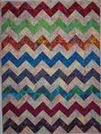 Fiesta Chevron Quilt Kit