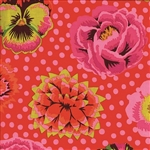 Kaffe Fassett - Classics- Big Blooms - Red GP91.REDD Half yard