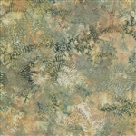 Batik Cotton Island Batiks Beach Grass KN49-B1 Half Yard