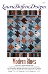 Modern Blues Quilt Pattern