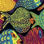 Brandon Mably - Fall 2016 - Shoal - Black PWBM051.BLACK Half Yard