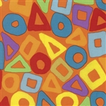 Brandon Mably - Fall 2016 - Puzzle - Orange PWBM057.ORANG Half Yard