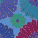 Kaffe Fassett - Backing Fabric - Carpet - Blue QBGP001.BLUEX Half yard
