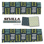 Benartex 5x5's Sevilla Blues 5x5 Pack SVBL5PK
