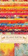 Island Batik Strip Pack Sunkist