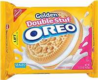 DOUBLE STUFF GOLD OREO 15.25 OZ