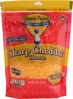 SHARP SHREDDED CHEDDAR 8 OZ