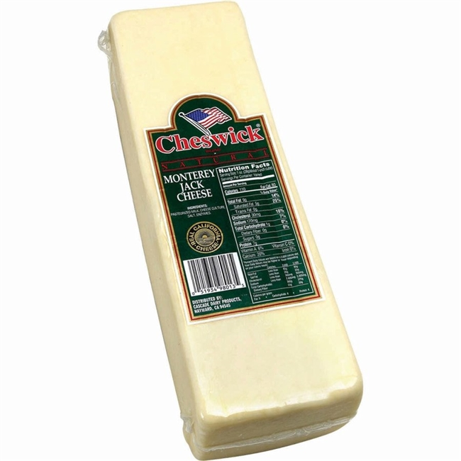 MONTEREY JACK CHEESE SHREDDED
