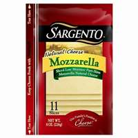 SLICED MOZZARELLA CHEESE 8 OZ