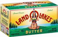 LAND O LAKES BUTTER-LIGHTLY SALTED 16OZ