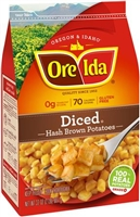 DICED HASHBROWN ORE-IDA 2 LB