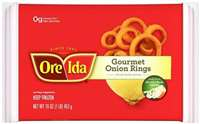 BREADED ONION RINGS ORE IDA 1 LB