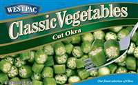WESTPAC CUT OKRA 16 OZ