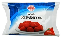 STRAWBERRIES WHOLE FROZEN 1 LB
