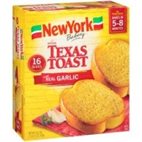 NY GARLIC TEXAS TOAST 16 SLICE 21 OZ