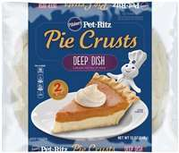PILLSBURY PET-RITZ DEEP DISH PIE SHELL 12 OZ