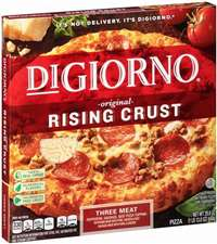 DIGIORNO 3 MEAT PIZZA 12 INCH