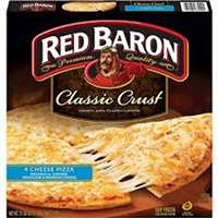 RED BARON PIZZA 4 CHEESE 21 OZ