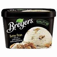 BREYER VANILLA ICE CREAM 48 OZ