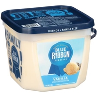 BLUE RIBBON GALLON PAIL VANILLA