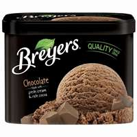BREYER CHOCOLATE ICE CREAM 48 OZ