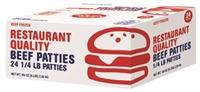 PURE BEEF PATTIES 6LB