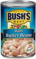 BUSH'S BABY BUTTER BEANS 16 OZ