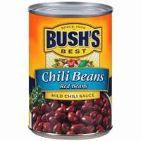 BUSH'S MILD CHILI BEANS 16 OZ