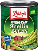 LIBBY'S SHELLIE BEANS 28 OZ