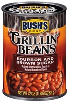 GRILLIN' BEANS BOURBON & BROWN SUGAR 22 OZ