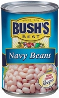 BUSH'S NAVY BEANS 16 OZ