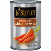 LESUER WHOLE BABY CARROTS 15 OZ