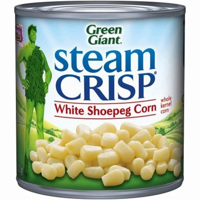 WHITE SHOE PEG CORN 11 OZ