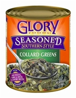 GLORY SEASONED COLLARD GREENS 27 OZ