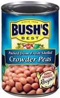 BUSH'S CROWDER PEAS 16 OZ