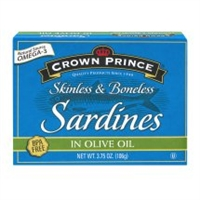 SARDINES IN OLIVE OIL 3.75 OZ