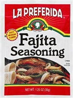 FAJITA SEASONING MIX 1.25 OZ