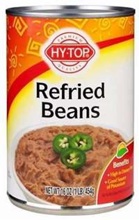 REFRIED BEANS 16 OZ
