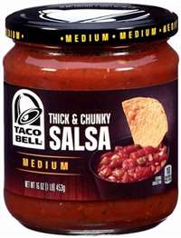 TACO BELL RED SALSA MEDIUM 16 OZ