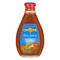 ORTEGA TACO SAUCE HOT 8 OZ
