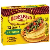 ORTEGA TACO SHELLS 12 COUNT