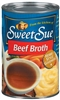 SWEET SUE BEEF BROTH 14.5 OZ