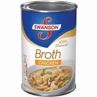 SWANSON CHICK BROTH 15 OZ CAN