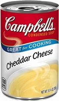 CAMPBELLS CHEDDAR CHEESE SOUP 11 OZ