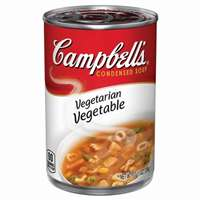 CAMPBELLS VEGETARIAN VEG SOUP 10 OZ